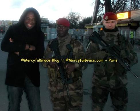 Anthony Everest with Veterans - MercyfulGrace.com