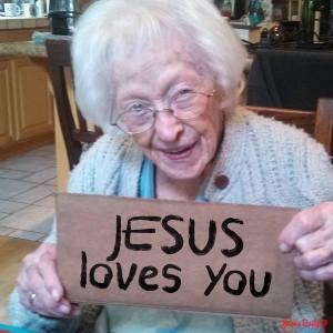 Jesus Loves you - MercyfulGrace.com