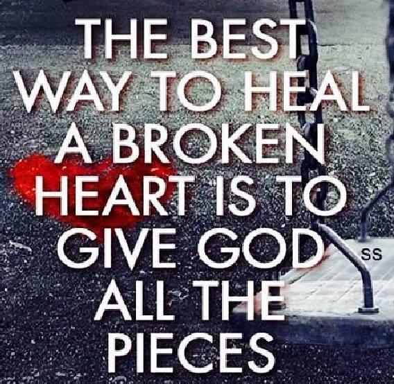 God Fixies All The Broken Pieces - MercyfulGrace.com