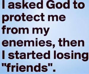 God's Protection No Enemies