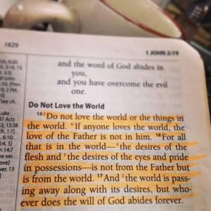 Loving God More