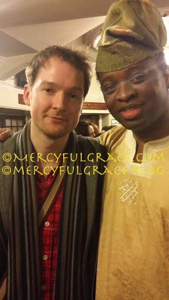 ‪#‎MemphisMusical‬ Killian Donnelly & Anthony Everest (Press Night)