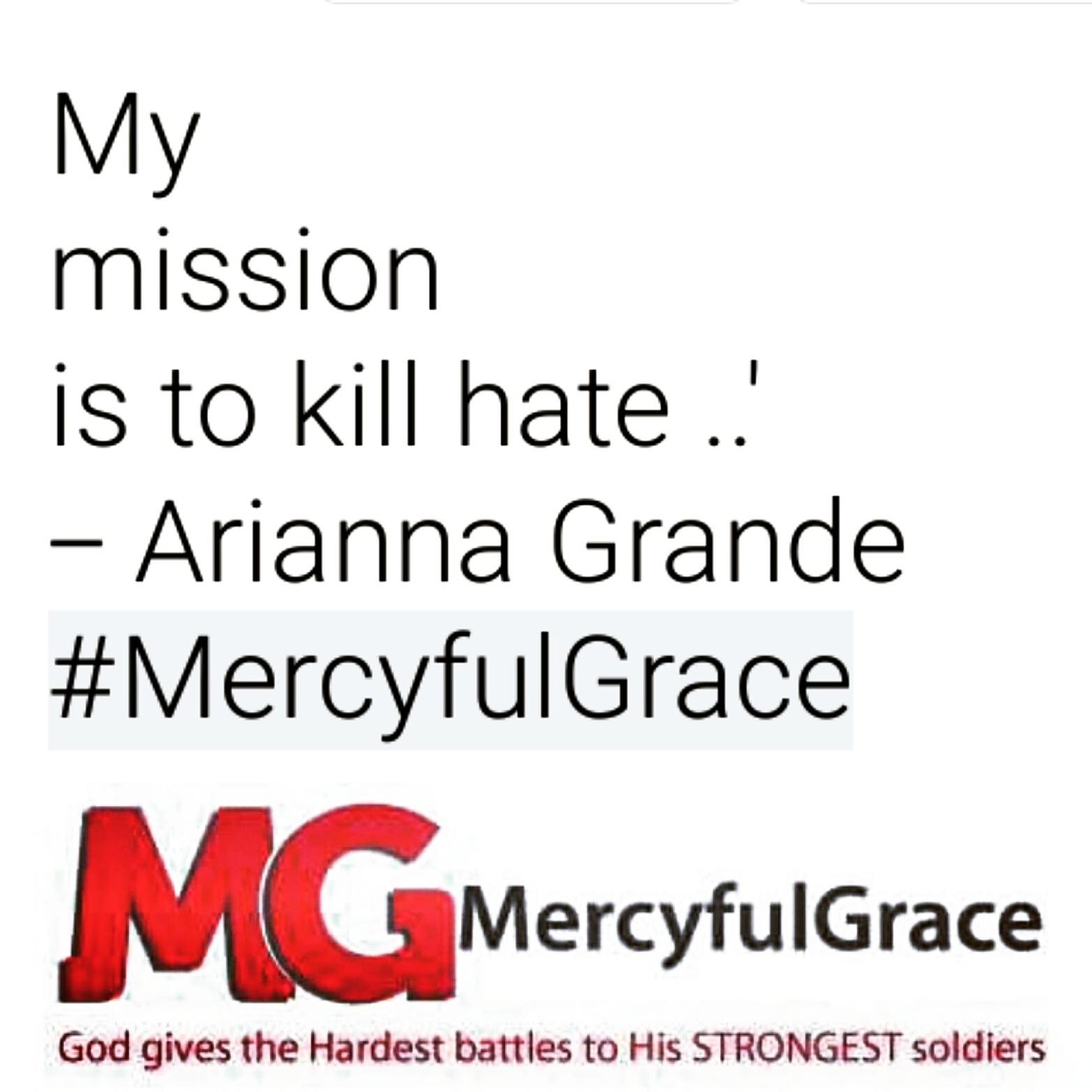 ARIANNA GRANDE - MercyfulGrace