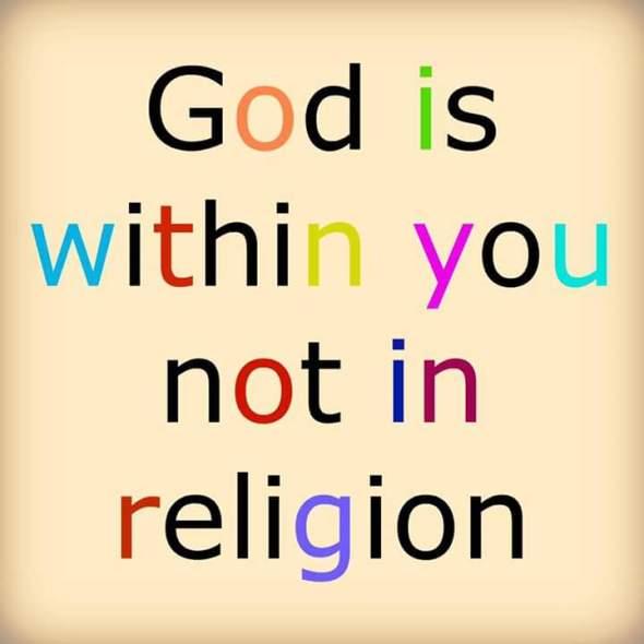 MercyfulGrace.com - God is not religion