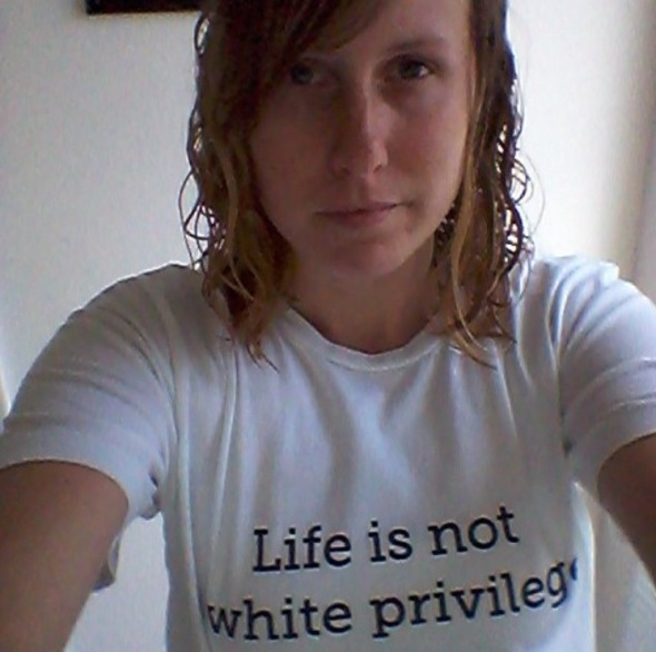 Life is not white privilege - More @ MercyfulGrace Blog
