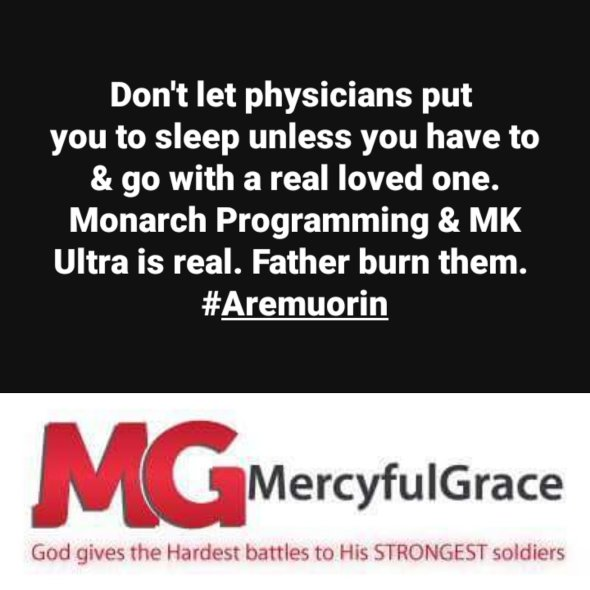 MK Ultra | MercyfulGrace